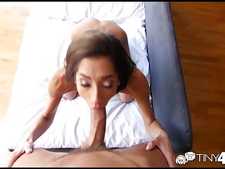 Tiny4K - Skinny Chloe Amour takes a dick..