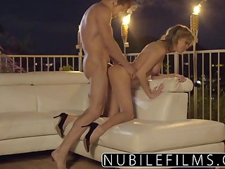 NubileFilms - Outdoor romance leads to..