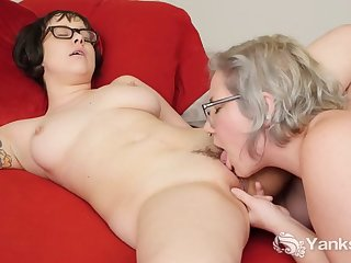 Lesbians Clementine And Vi Fingering Her..