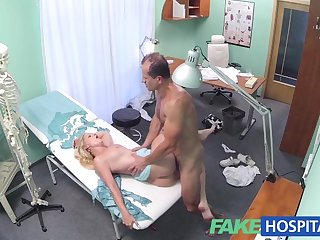 FakeHospital Sexy blonde has full..