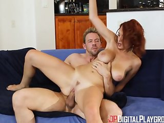 Digital Playground- Busty Redhead Enjoys..