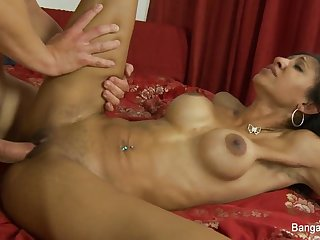 Exotic beauty Sadie Santana craves a..
