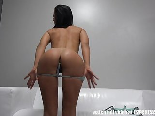 Beautiful Casting Masturbation