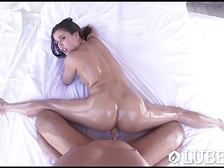 LUBED - Top voted hotties lubed up fuck..