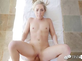 Tiny4K - Short blonde girl Amy Summers..