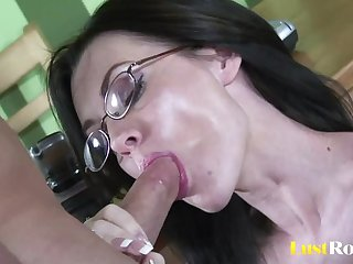 Gifted geek Brandi Edwards thirsty for..